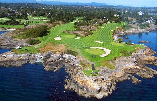 Golf Course Oak Bay