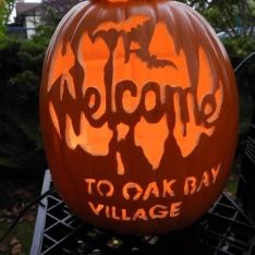 Oak Bay Pumpkin Art