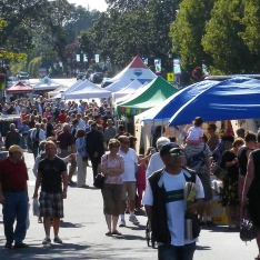 Oak Bay Village Summer Night Market