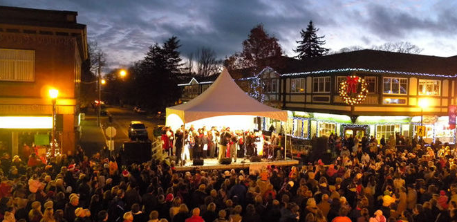Oak Bay Village Christmas Light Up