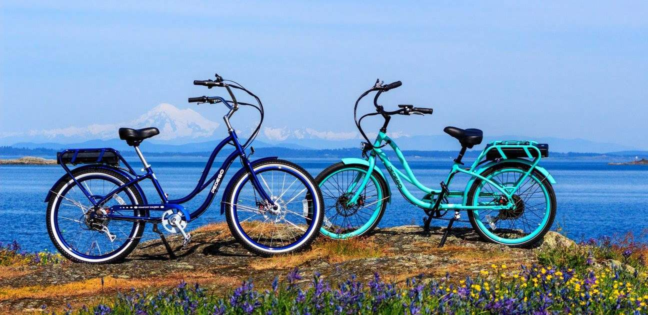 Cycling in oak bay