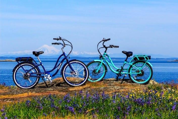 Cycling in oak bay