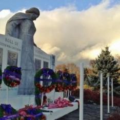 Oak Bay Uplands Park Cenotaph