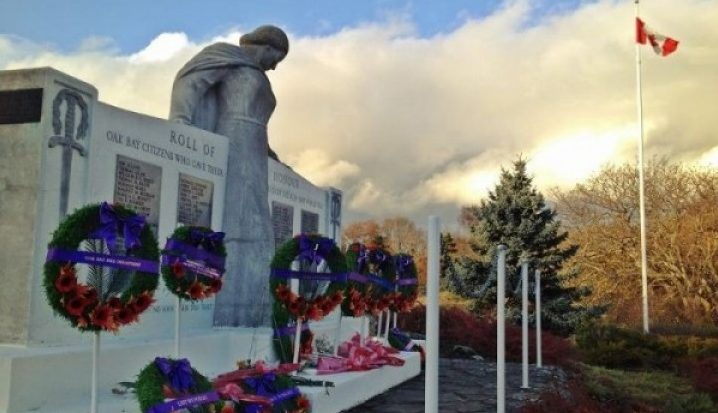 Oak Bay Uplands Park Cenotaph