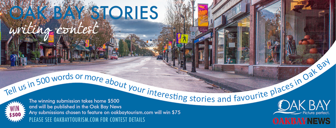 Oak Bay Stories writing contest
